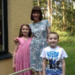 Izzy, Helen and Ben